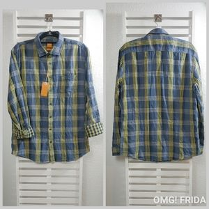 Boss plaid shirt